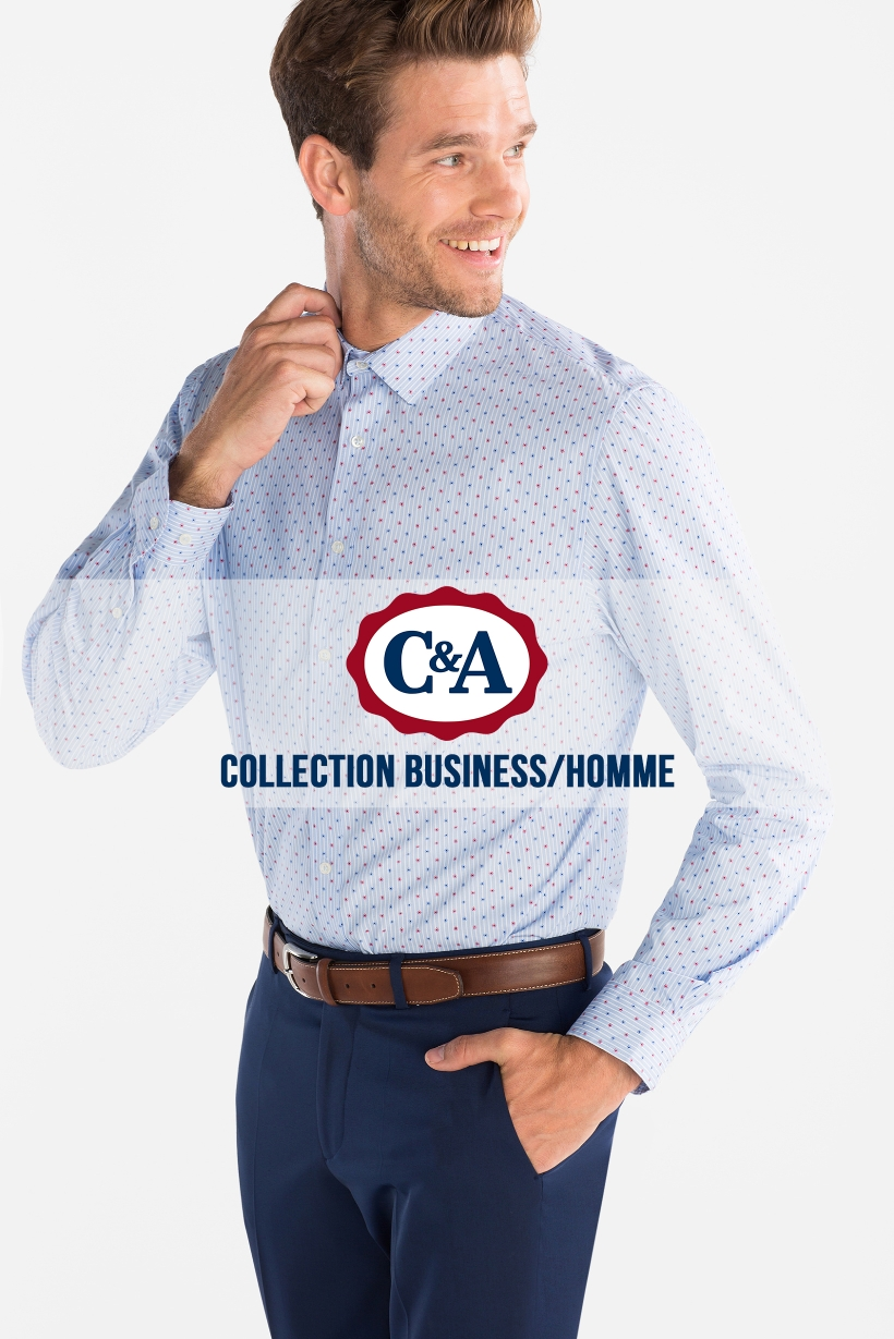 C&A Collection Business - Homme Valable du 14/08/2018 au 14/10/2018